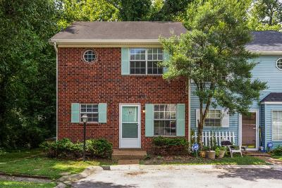 Davidson County Condo/Townhouse For Sale: 107 Okee Trl