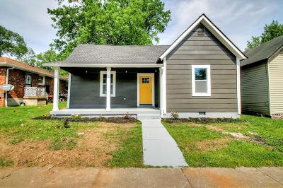 Nashville Single Family Home For Sale: 1610 22nd Ave N