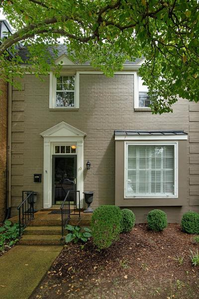Green Hills Condo/Townhouse For Sale: 4400 Belmont Park Ter #143