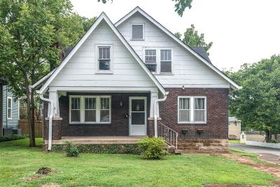 Nashville Single Family Home Active Under Contract: 4811 Nevada Ave