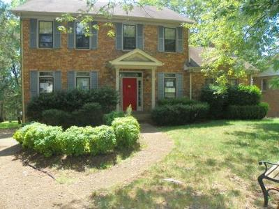 Goodlettsville Single Family Home For Sale: 309 Chickasaw Trail
