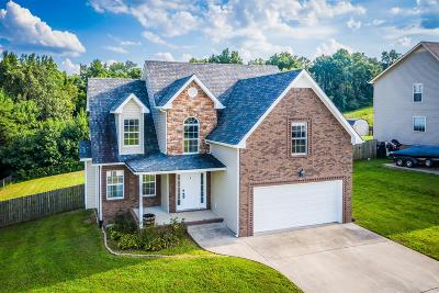 Clarksville Single Family Home Active Under Contract: 1448 Rustys Ln