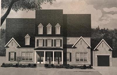 Franklin Single Family Home For Sale: 1037 Firestone Drive *lot 6