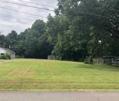 La Vergne Residential Lots & Land Active Under Contract: 1606 Pearcy St