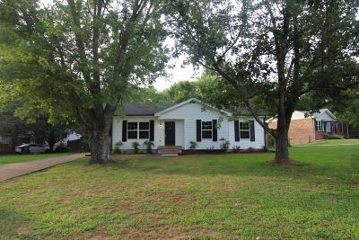 Wilson County Single Family Home Active Under Contract: 400 Morningview Dr
