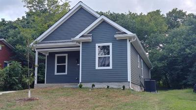 Nashville Single Family Home For Sale: 923 42nd Ave N