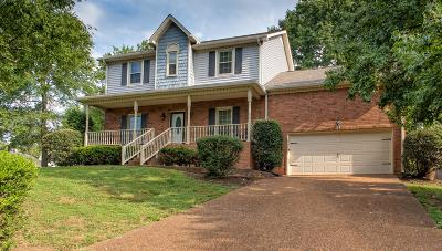 Goodlettsville Single Family Home For Sale: 316 Chickasaw Trl