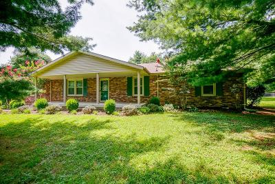 Mount Juliet Single Family Home Active Under Contract: 200 Paul Dr