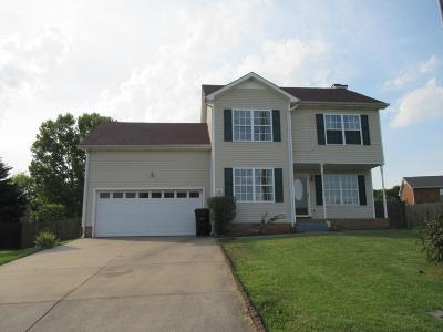 Clarksville Single Family Home For Sale: 1941 Whirlaway Cir