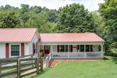 Culleoka Single Family Home Active Under Contract: 5312 Wiley Hollow Rd