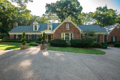 Nashville Single Family Home For Sale: 4911 Sewanee Rd