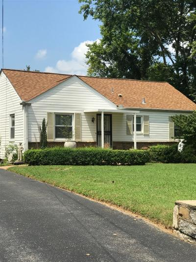 Nashville Single Family Home For Sale: 920 Riverside Dr