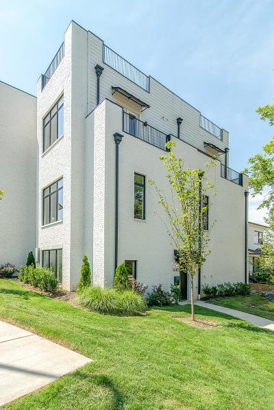 Nashville Condo/Townhouse For Sale: 1402 Wedgewood Ave