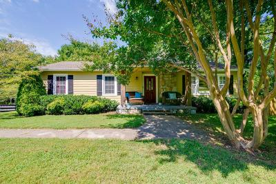 Franklin Single Family Home For Sale: 1318 Bostic St