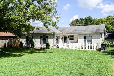 Sumner County Single Family Home Active Under Contract: 109 Jerry St