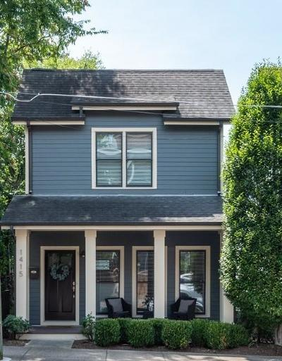 Nashville Single Family Home For Sale: 1415 4th Ave N