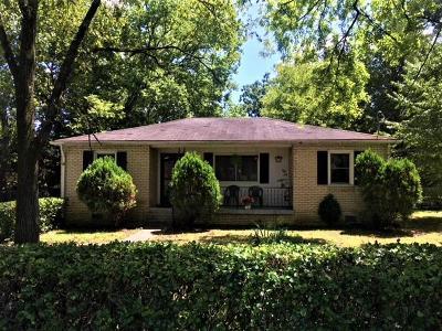 Nashville Single Family Home For Sale: 1807 Meade Ave