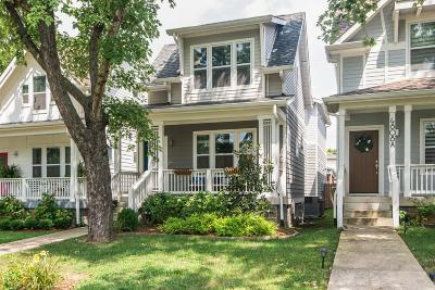 Nashville Single Family Home For Sale: 4808B Michigan Ave