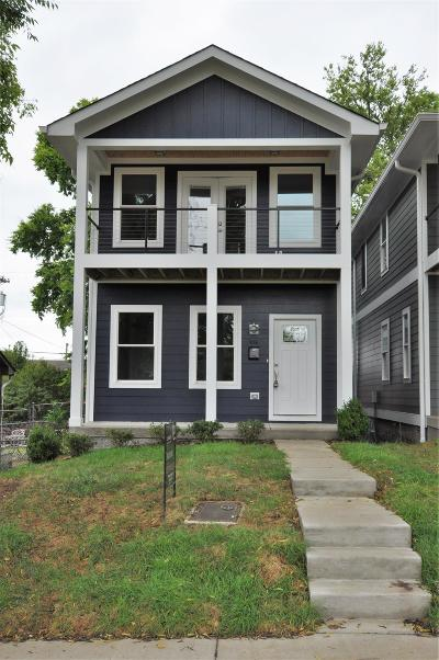 Nashville Single Family Home For Sale: 606A N 2nd St