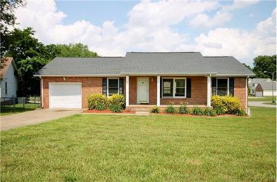 Clarksville Single Family Home For Sale: 191 Cave Rd