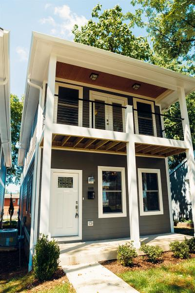 Nashville Single Family Home For Sale: 606B N 2nd St