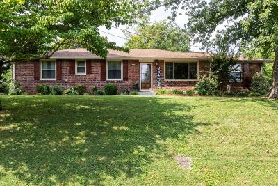 Hermitage Single Family Home For Sale: 212 Bonnaoaks Dr