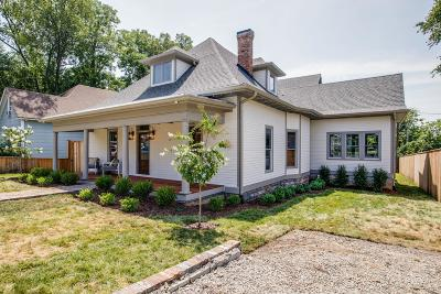 Nashville Single Family Home For Sale: 1013 Paris