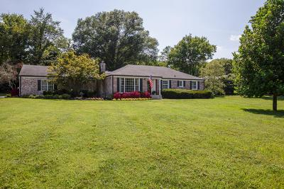 Nashville Single Family Home Active Under Contract: 887 Robertson Academy Rd