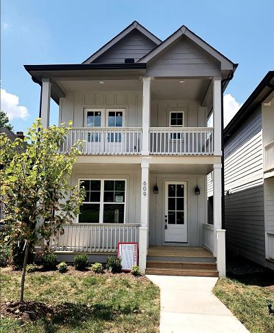 Nashville Single Family Home For Sale: 609B 49th Ave N