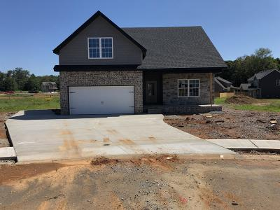 Clarksville Single Family Home Active Under Contract: 57 Reserve At Sango Mills