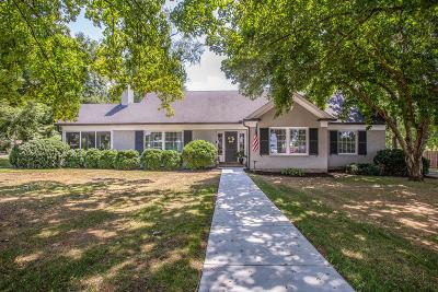 Franklin Single Family Home For Sale: 113 Everbright Avenue