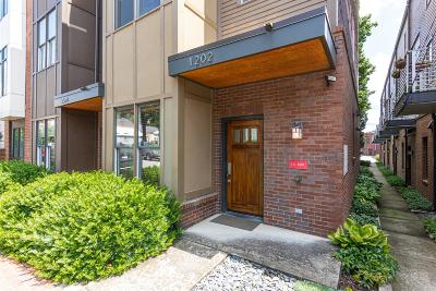 Nashville Condo/Townhouse Active Under Contract: 1202 6th Ave N