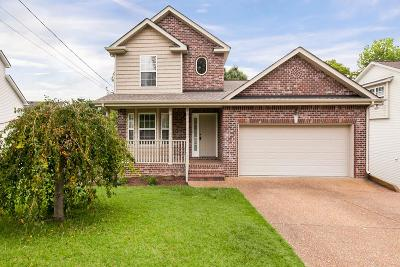 Old Hickory Single Family Home For Sale: 1705 Carrington Ct