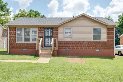 East Nashville Single Family Home Active Under Contract: 609 North 5th Street