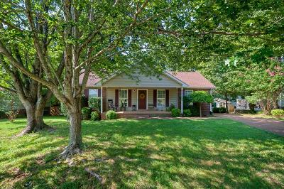 Williamson County Single Family Home Active Under Contract: 7124 Catherine Dr