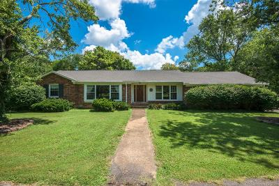 Nashville Single Family Home For Sale: 4652 Tara Dr