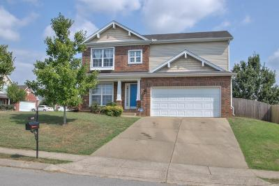 Spring Hill  Single Family Home For Sale: 1806 Baileys Trace Dr