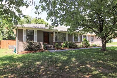 Nashville Single Family Home Active Under Contract: 2106 Crystal Dr