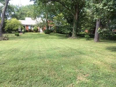 Nashville Residential Lots & Land For Sale: 3614 Woodmont Blvd