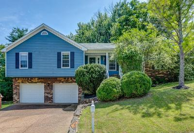 Nashville Single Family Home Active Under Contract: 7504 Rolling River Pkwy