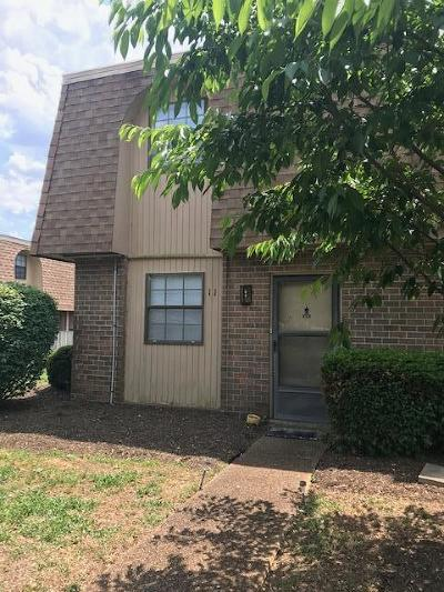 Madison Condo/Townhouse For Sale: 420 Walton Ln Apt C11