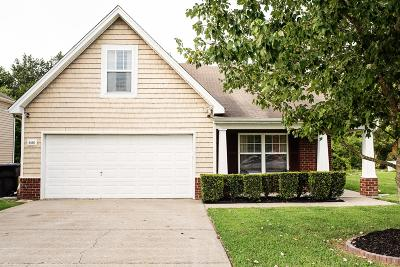 Murfreesboro Single Family Home For Sale: 5416 Middlebury Drive