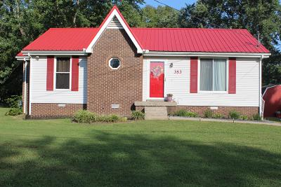 Sumner County Single Family Home For Sale: 353 Marrell St