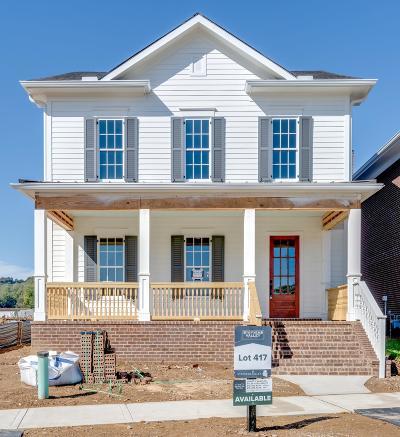 Nashville Single Family Home For Sale: 917 Dauphine Street- Lot 417