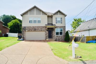 Mount Juliet TN Single Family Home For Sale: $309,900