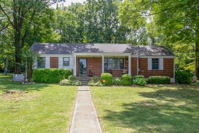 Nashville Single Family Home Active Under Contract: 400 Lorna Dr