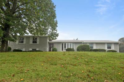 Nashville Single Family Home For Sale: 3500 Geneva Cir