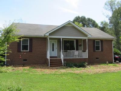 Cheatham County Single Family Home Active Under Contract: 1226 Pleasant View Main St