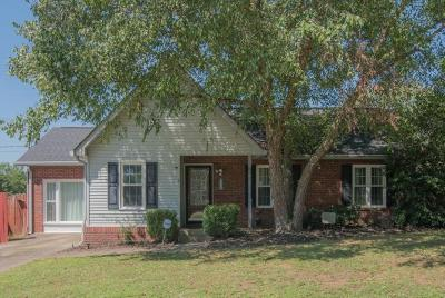 Nashville Single Family Home Active Under Contract: 3400 White Pine Dr