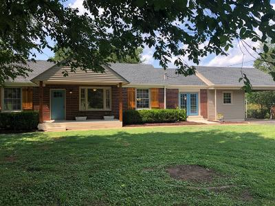 Nashville Single Family Home For Sale: 407 Barrett Rd